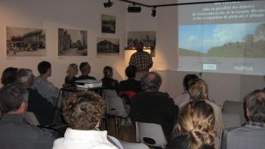 Conférence Histoire du paysage et l'archéologie du Vercors JEP 2013